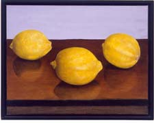 3 LEMONS ON A  SHELF